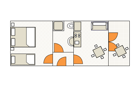 Ground-plan of the apartment - 3 - 4